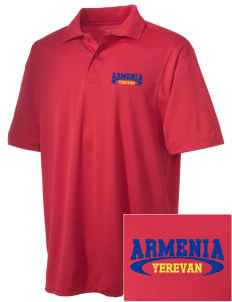 Armenia Embroidered Men's Micro Pique Polo