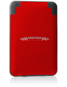 Austria Kindle Keyboard 3G Skin