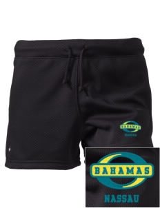 "Bahamas Embroidered Holloway Women's Balance Shorts, 3"" Inseam"