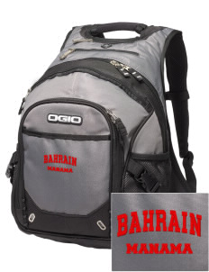 Bahrain Embroidered OGIO Fugitive Backpack