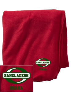 Bangladesh Embroidered Holloway Stadium Fleece Blanket