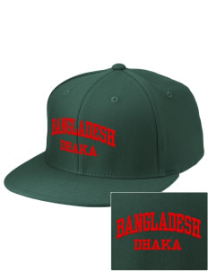 Bangladesh Embroidered Diamond Series Fitted Cap