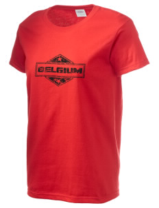 Belgium Women's 6.1 oz Ultra Cotton T-Shirt
