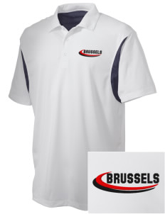 Belgium Embroidered Men's Back Blocked Micro Pique Polo