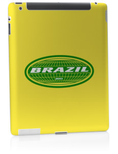 Brazil Apple iPad 2 Skin
