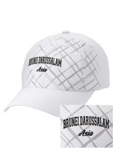 Brunei Darussalam Embroidered Mixed Media Cap