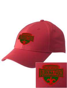 Burkina Faso  Embroidered New Era Adjustable Structured Cap