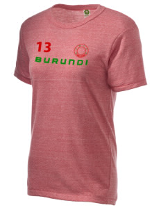 Burundi Alternative Unisex Eco Heather T-Shirt
