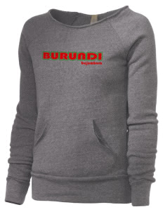 Burundi Alternative Women's Maniac Sweatshirt
