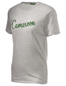 Cameroon Embroidered Alternative Unisex Eco Heather T-Shirt