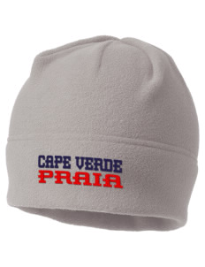 Cape Verde Embroidered Fleece Beanie