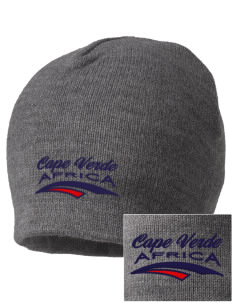 Cape Verde Embroidered Beanie