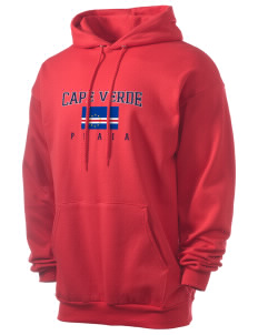 Cape Verde Men's 7.8 oz Lightweight Hooded Sweatshirt