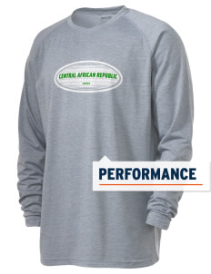 Central African Republic Men's Ultimate Performance Long Sleeve T-Shirt