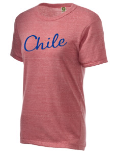 Chile Embroidered Alternative Unisex Eco Heather T-Shirt