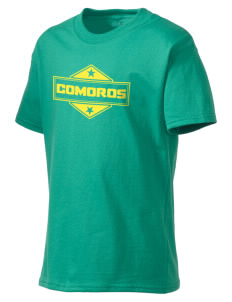 Comoros Kid's Lightweight T-Shirt