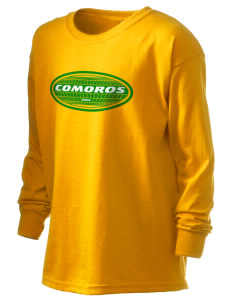 Comoros Kid's 6.1 oz Long Sleeve Ultra Cotton T-Shirt