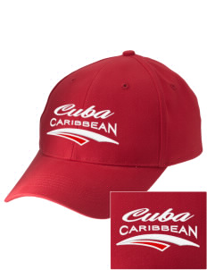 Cuba Embroidered Low-Profile Cap