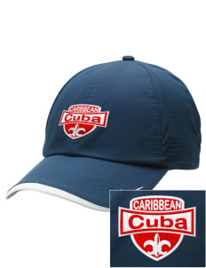 Cuba Embroidered Nike Dri-FIT Swoosh Perforated Cap