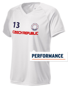 Czech Republic Holloway Women's Zoom Performance T-Shirt