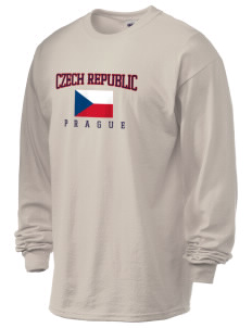 Czech Republic 6.1 oz Ultra Cotton Long-Sleeve T-Shirt