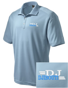 Djibouti Embroidered Nike Men's Dri-Fit Classic Polo