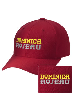 Dominica Embroidered Wool Adjustable Cap