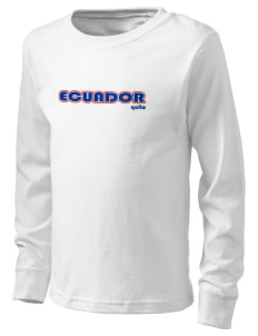 Ecuador  Kid's Long Sleeve T-Shirt