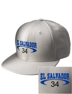 El Salvador  Embroidered New Era Flat Bill Snapback Cap