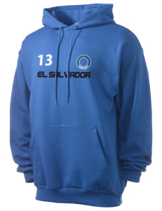 El Salvador Men's 7.8 oz Lightweight Hooded Sweatshirt