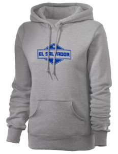 El Salvador Russell Women's Pro Cotton Fleece Hooded Sweatshirt