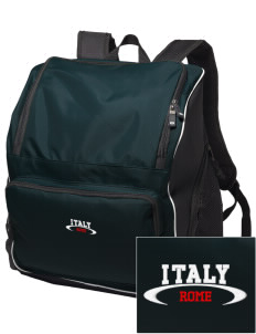 Italy Embroidered Holloway Duffel Bag