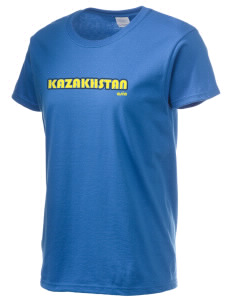 Kazakhstan Women's 6.1 oz Ultra Cotton T-Shirt