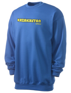 Kazakhstan Men's 7.8 oz Lightweight Crewneck Sweatshirt