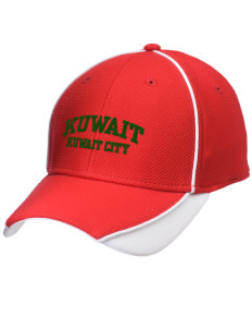 Kuwait Embroidered New Era Contrast Piped Performance Cap