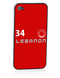Lebanon Apple iPhone 4/4S Skin