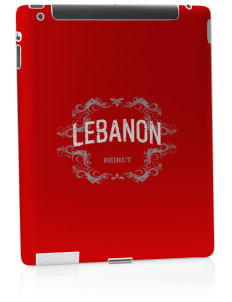 Lebanon Apple iPad 2 Skin