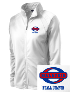 Malaysia Embroidered Women's Tricot Track Jacket