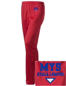 Malaysia Embroidered Holloway Women's Contact Warmup Pants