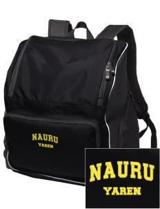 Nauru Embroidered Holloway Backpack
