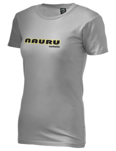 Nauru Alternative Women's Basic Crew T-Shirt