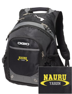 Nauru Embroidered OGIO Fugitive Backpack