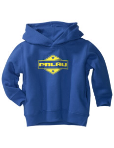 Palau  Toddler Fleece Hooded Sweatshirt with Pockets