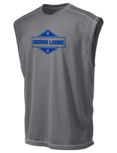 Sierra Leone Champion Men's 4.1 oz Double Dry Odor Resistance Muscle T-Shirt
