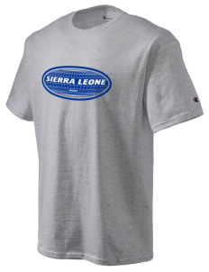 Sierra Leone Champion Men's Tagless T-Shirt
