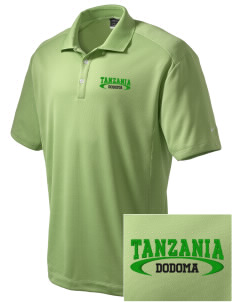 Tanzania Embroidered Nike Men's Dri-Fit Classic Polo