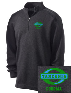 Tanzania Embroidered Nike Men's Golf Heather Cover Up