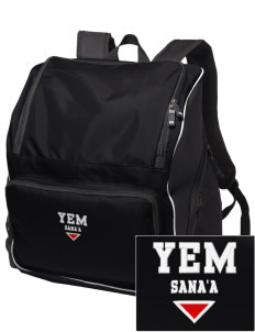 Yemen Embroidered Holloway Backpack