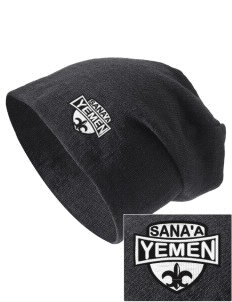 Yemen Embroidered Slouch Beanie