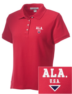 Alabama Embroidered Women's Performance Plus Pique Polo